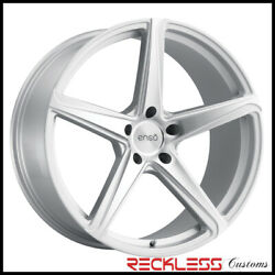 Enso 22 F1 Silver Concave Wheels Rims Fits Nissan Rogue