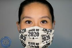 MissFitChicago 2020 Graduation Face Mask Gift with Box SAME DAY SHIP