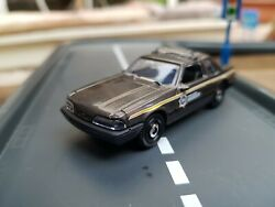 Matchbox '93 Ford Mustang Lx Ssp Police County Sheriff Model Toy Car
