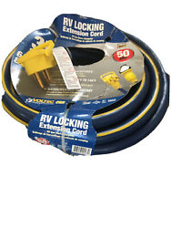 Voltec E-zee Grip 50a Extension Cord With Locking Ring - 35and039 Rv Power Cord