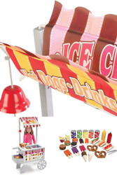 Ice Cream Cart Wooden Stand Melissa And Doug For Kids Lemonade Outdoor Toys Port