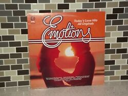 Emotions Todayand039s Love Hits All Originals Lp Vinyl Turntable Record Nc 500