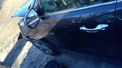 13 Hyundai Santa Fe Driver Front Door Automatic Up And Down Feature Black