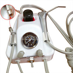 Portable Turbine Compressor High Low Speed Dental air turbine Handpiece Tube 2H $91.19