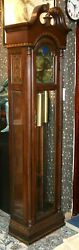 Antiques Celestial By Pearl Grandfather Clock