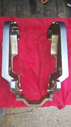 Yamaha 115 Hp 1988 Outboard 2 Stroke Engine Pair Transom Cradle Arms
