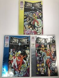 Deathmate 3 Comics Blue Prologue Yellow In Sleeves
