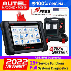 Autel Mx808 As Maxidas Ds708 Diagnostic Scanner Tool Obd2 Code Reader Computer