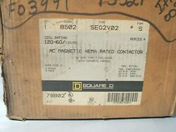 Square D 8502seg2v02s 8502 Ac Magnetic Nema Rated Contactor In Type 1 Enclosure