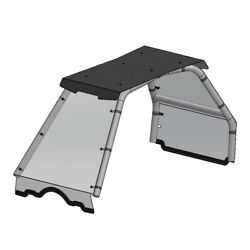 Front Windshield Rear Window And Roof Top Combo Polaris Ace 150 2017 To 2021