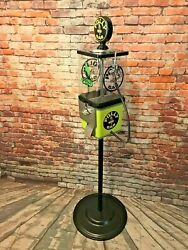 Polly Gas Man Cave Decor Vintage Gumball Machine Fathers Day Gift Bar Game Room
