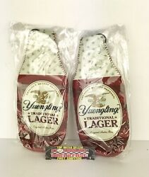 Yuengling Toast A Hero American Flag 12 Oz Bottle Koozies Lot Of 4 Brand New