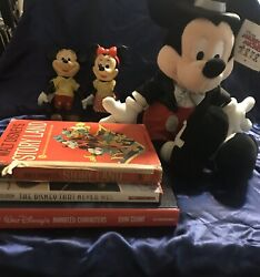 Walt Disney Mickey Mouse Misc Lot Vintage And New With Tag