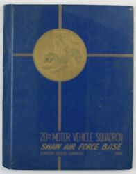 20th Motor Vehicle Squadron Shaw Air Force Base Sumter Sc 1950 Unit History Book