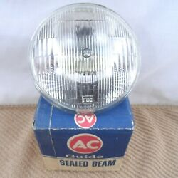 Fog Light Clear 12 Volt 5 1/2 Ac Delco Driving Lamp Guide Usa Nos L4412 451706