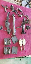 1986 150hp Mercury Xr2 Outboard Cable Anchor Motor Mounts And Parts Lot