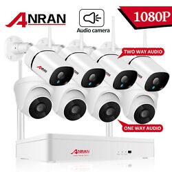 Anran Outdoor Wireless Home Security Camera System Two-way Audio Talk Ipc Video