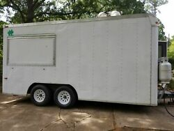 Well-Equipped 2002 7' x 16.5' Kitchen Food TrailerMobile Kitchen for Sale in Lo