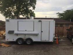 2016 Cargo Mate E-Series 7.5' x 16' Kitchen Trailer with 2007 Dodge Ram 1500 for