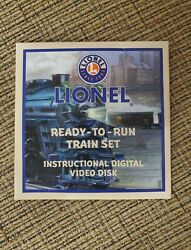 New Lionel O Scale Ready To Run Rtr Instructional Video Dvd