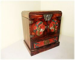 Antique Chinese Official Stationery Chest 2902, Circa 1800-1849