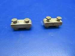 Beech Baron 95-b55 Stec Cable Clamps P/n 6121 Lot Of 2 0420-378