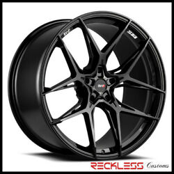 Savini 20 Svf-05 Gloss Black Concave Wheel Rims Fits Ford Mustang Gt Gt500