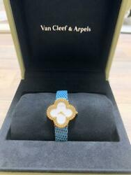 Van Cleef & Arpels Alhambra Women's Watch from Japan free shipping