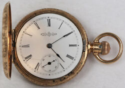 Illinois Parts Or Repair Pocket Watch 6 Size 14k Hunting