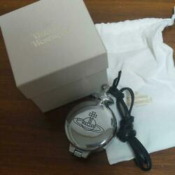 Vivienne Westwood Authentic Orb Pocket Portable Ashtray Accessorie New Unused