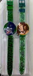 Rare Disney Tarzan Watch Set 2 Watches New In Package Vintage