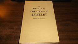 The Design And Creation Of Jewelry By Robert Von Neumann Hardcover 1972 Good