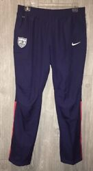 Nike Us Usa National Team Auth Navy Blue Soccer Track Wind Pants New Womens Xl