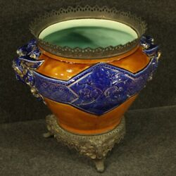 French Vase Cup Furniture Object Antique Style In Painted Ceramic 900