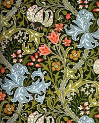 Golden Lily Variance William Morris Painting Artwork Paint By Numbers Kit Diy