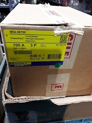 Mgl36700 Square D Circuit Breaker 700amp 3pole New In Box