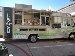 2013 Ford F59 Utilimaster 30' Stepvan Coffee and Beverage Truck for Sale in Texa