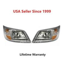 Dorman Left And Right Headlights Lamps For 06-19 Hino 258alp 268a 338ct Pair