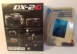 Vintage Sea And Sea Dx-2g Underwater Camera And Housing Set And Book-new In Package