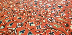 Exquisite Antique 1940and039s Wool Pile Natural Dye Legendary Hereke Rug 6and0396andtimes9and0395
