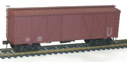 Accurail 1198 36' Outside Braced Wood End/roof Boxcar Data Only Blt 1913 2pak