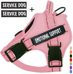 Voopet Service Dog Harness No Pull Emotional Support Pet Vest Harness Reflecti
