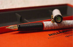Rotring Millennium Fountain Pen Limited Edition Medium Pt New In Box From 1998