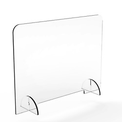 Sneeze Guardandnbspprotective Acrylic Germ Shield Countertop Barrier 1/4 Thick