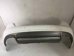 Rear Bumper Assembly Audi A4 S4 Sedan 10-12 Ibis White Ly9c Scratched