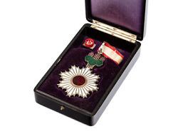C1940 Japan Order Of The Rising Sun 3rd Cl Commander
