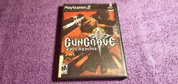 Gungrave Overdose Sony Playstation 2 Ps2 - Black Label - Complete - Working