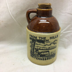 Vintage Souvenir Jug Only Tennessee Corked