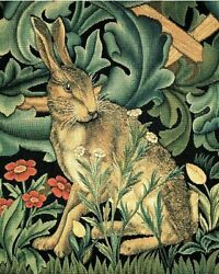 The Forest Rabbit William Morris Painting Artwork Paint By Numbers Kit Diy