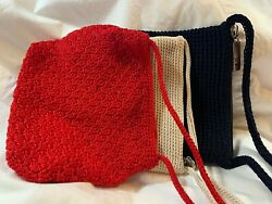 SAK CROCHET CROSSBODY PURSES CHOOSE COLOR $22.99